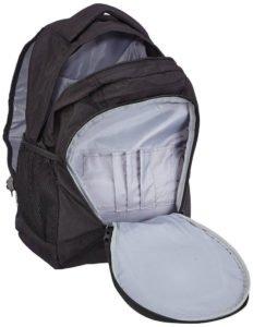 Der schwarze Travelite Rucksack