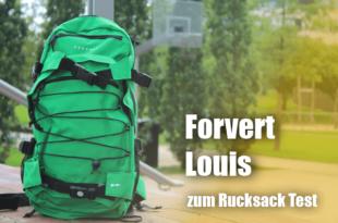 Der Skater- und Outdoor Rucksack Forvert Louis