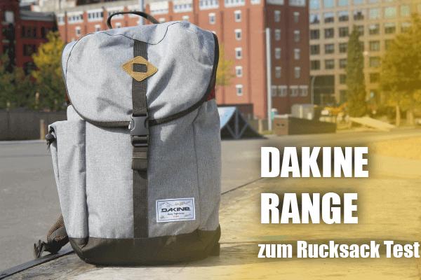 Der Dakine Range Rucksack im Retrostyle
