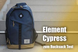 Der Schul- und Uni Rucksack Element Cypress