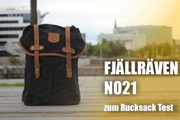 Der Fjällräven No 21 Rucksack