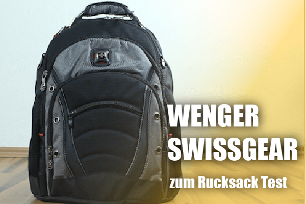 Der Wenger Swissgear Rucksack