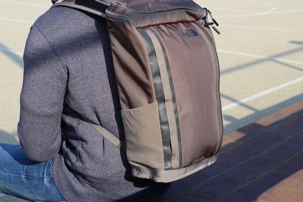 Ein bequemes tragen des North Face Kaban Rucksack