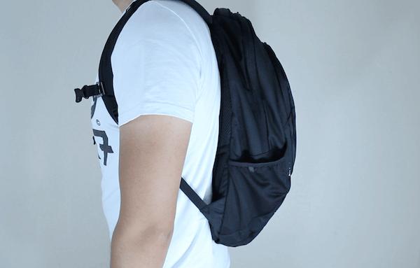 Der North Face Vault Rucksack lässt sich sehr angenehm tragen