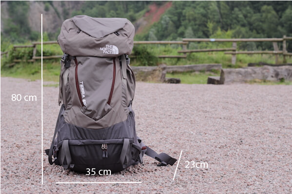 North Face Terra Rucksack